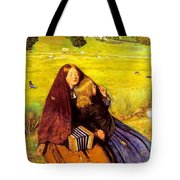 The Blind Girl Tote Bag