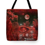 The Blood Moon Tote Bag