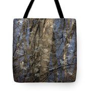 The Blue And The Gray Tote Bag