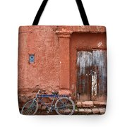 The Blue Bicycle Tote Bag