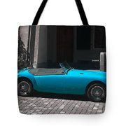 The Blue Car Tote Bag