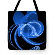 The Blue Cat Tote Bag