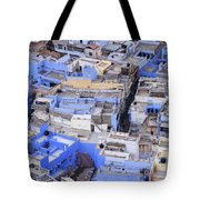 The Blue City Of Jodhpur In India Tote Bag