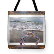 The Blue Crab Tote Bag