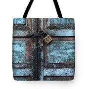 The Blue Door 2 Tote Bag