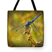 The Blue Dragonfly  Tote Bag