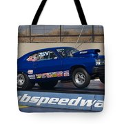 The Blue Duster Tote Bag