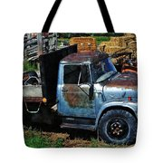 The Blue Farm Truck Tote Bag