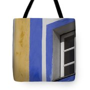 The Blue Framed Window Tote Bag