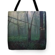 The Blue-green Forest Tote Bag
