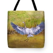 The Blue Hop Tote Bag