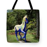 The Blue Horse Tote Bag