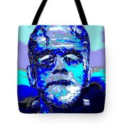 The Blue Monster Tote Bag