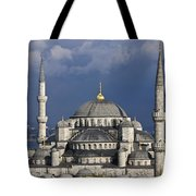 The Blue Mosque In Istanbul Tote Bag