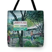 The Blue Mountains Of Jamaica Tote Bag