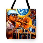 The Blue Nile Jazz Club Tote Bag