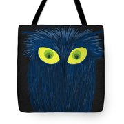 The Blue Owl Tote Bag