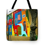 The Blue Path Tote Bag