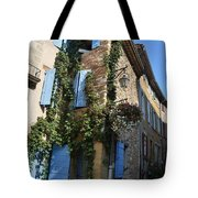 The Blue Shutters Tote Bag