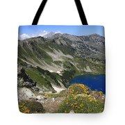 The Blue Vasilashko Lake Pirin National Park Bulgaria  Tote Bag