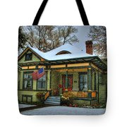 The Blustery Day Tote Bag