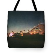 The Boardwalk Tote Bag by Laurie Search