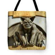 The Boardwalk Of Santa Cruz Gargoyles Tote Bag