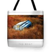 The Boat Poster Tote Bag