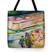 The Boat Trip, 1989 Wc On Paper Tote Bag