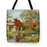 The Boathouse Tote Bag by Alfred Parsons