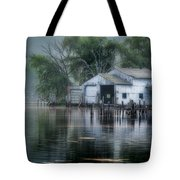 The Boathouse Tote Bag by Bill Wakeley
