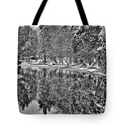 The Boathouse In Old Forge Tote Bag