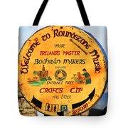 The Bodhran Makers Tote Bag