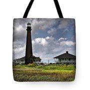 The Bolivar Lighthouse Tote Bag