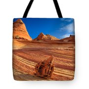 The Bone Yard In The North Coyote Buttes Tote Bag