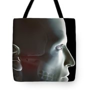 The Bones Of The Head Tote Bag