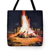 The Bonfire Tote Bag