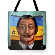 The Book Of Surrealism Edit 5 Tote Bag