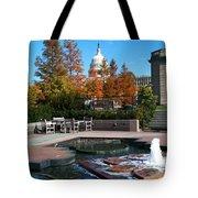 The Botanic Garden Fountain Tote Bag