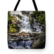 The Bottom Of Mingo Falls Tote Bag