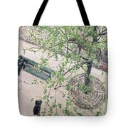 The Boulevard Viewed From Above Tote Bag