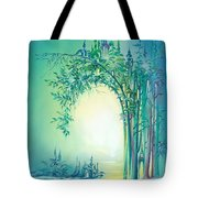 The Boundary Bush Tote Bag