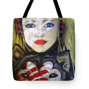 The Bounding Tote Bag
