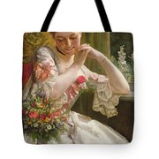The Bouquet Tote Bag by Albert Raudnitz