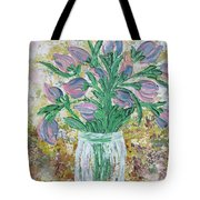 The Bouquet II Tote Bag by Molly Roberts