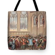 The Bourgogne Herald, Sent By Charles Tote Bag