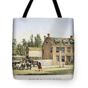 The Bowery, New York, 1783 Tote Bag