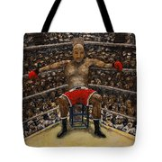 The Boxer Tote Bag by Richard Wandell