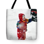 The Boy And The Box 2 Tote Bag