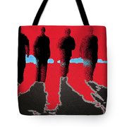 The Boys Awalking Tote Bag